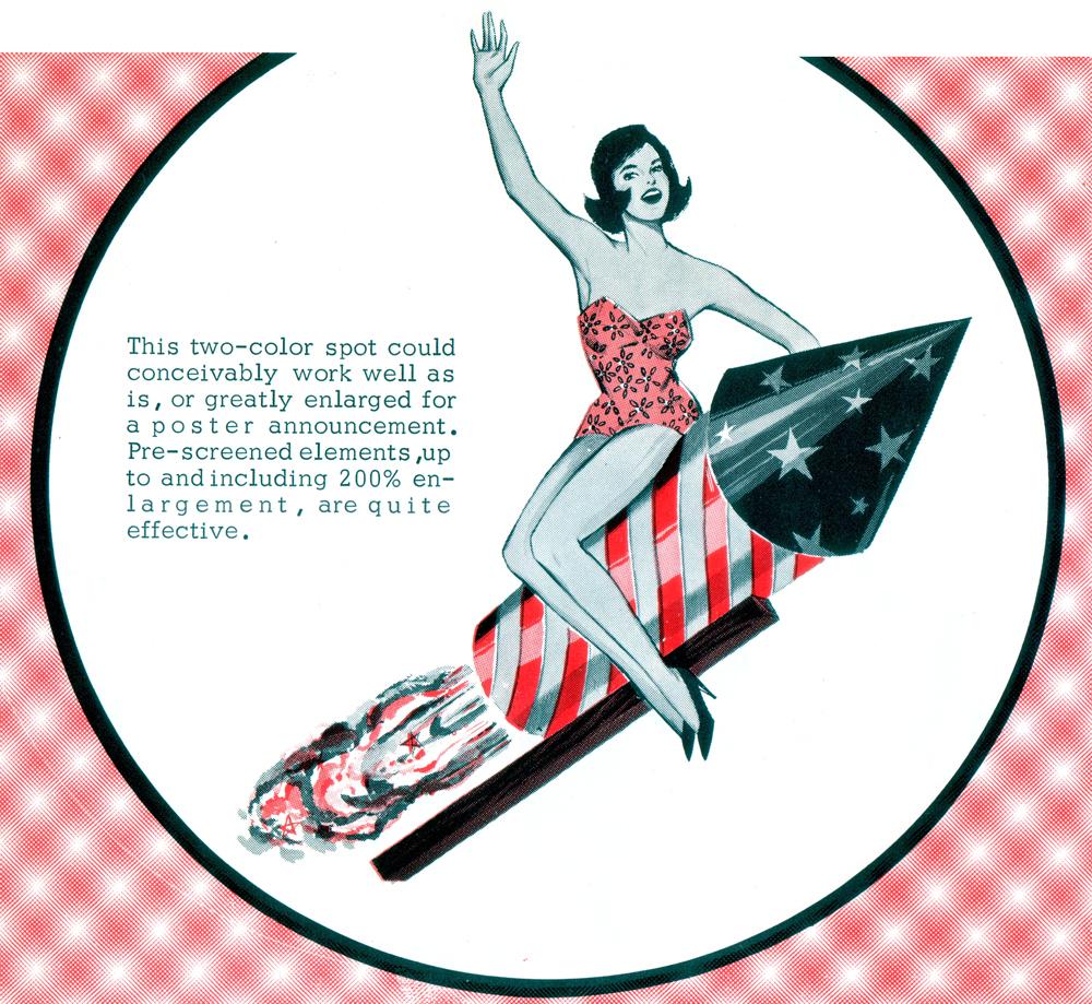 4thJuly-lady-rocket-1961